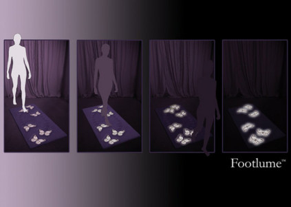 Footlume Carpet Lights The Way With Every Step You Take