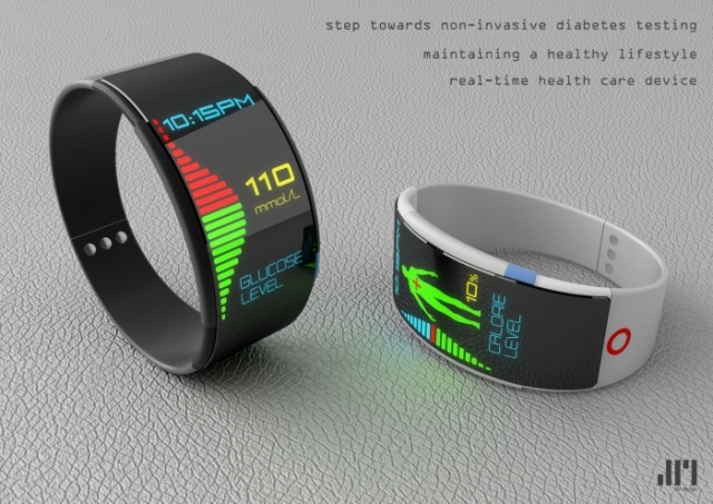 Diabetes Monitoring Watch