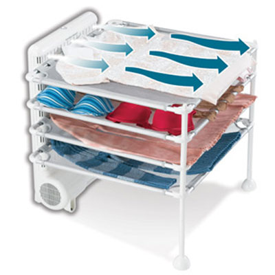 Quick Dry 4 Shelf Garment Station