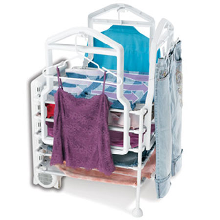 Quick Dry Deluxe 8 Way Garment Station
