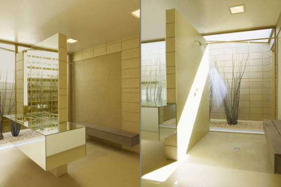 Acido Durado suite, bathroom and lavatory: © Brad Lansill