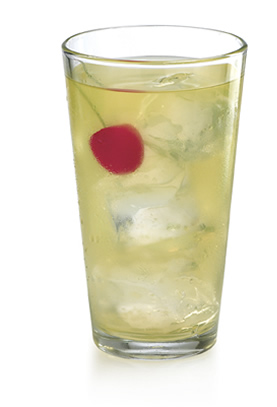 Pearl Pom Bomb: Pearl Pomegranate Vodka & Red Bull (Image:barnonedrinks.com)