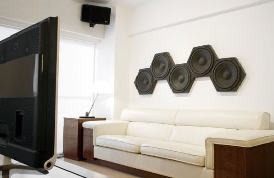 Acoustic Foam Sound Controller Tiles Speakers That Say Shhh