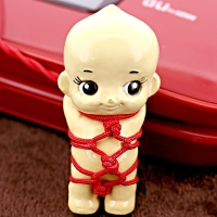 Rope Red Kewpie Doll