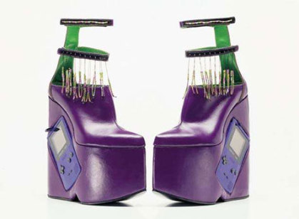 Innovative Gameboy Boots