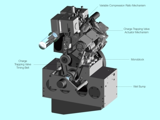 at the two stroke engine