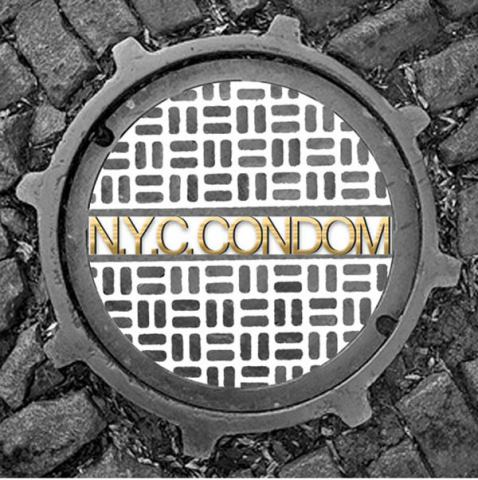 NYC Condom Wrapper - 2010 Design by Virgil Alderson: image via gothamist.com