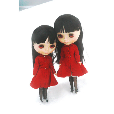 Twin Blythes - or an outtake from The Shining