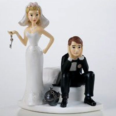 Wedding Cake Topper 2 I caught a nice one