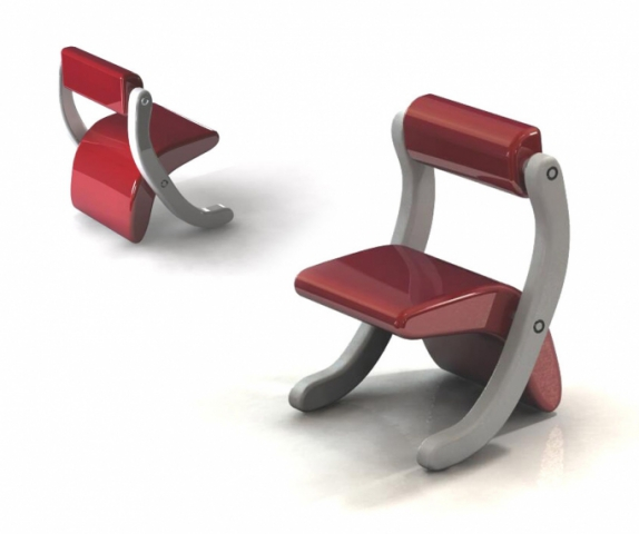 Leela Chairs for children by Rahul Shirbhate: Rahul Shirbhate