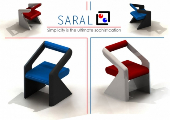 SARAL Chairs, designed by Rahul Shirbhate: Rahul Shirbhate