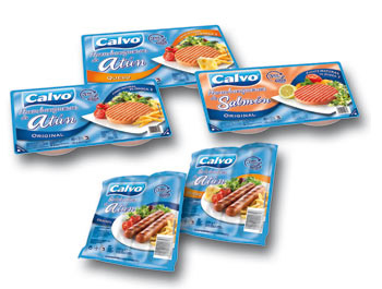 Calvo Tuna Hamburgers and Tuna Sausages