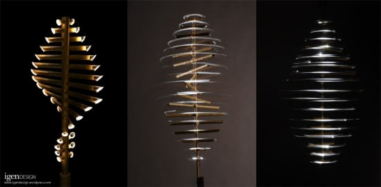 'Flow' lighting by Igendesign: ©Igendesign
