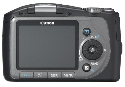 Canon PowerShot SX100IS 2.5 inch LCD display: www.dcresource.com