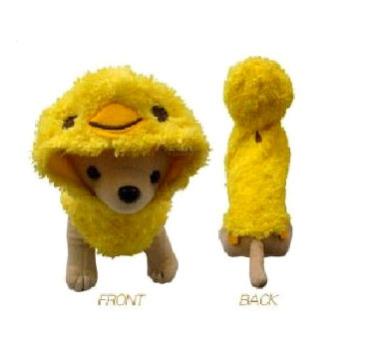 Chick Peep Dog Costume