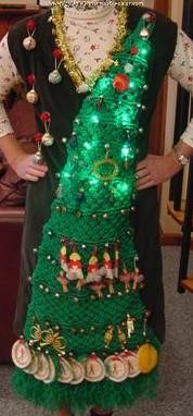 Wearable Christmas tree