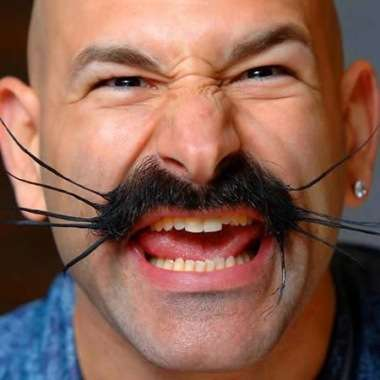 Strange Fun Facial Hair 10 Most Weird And Wacky Moustaches And Beards Short Hairstyles For Black Women Fulllsitofus