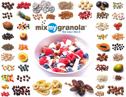 MixMyGranola