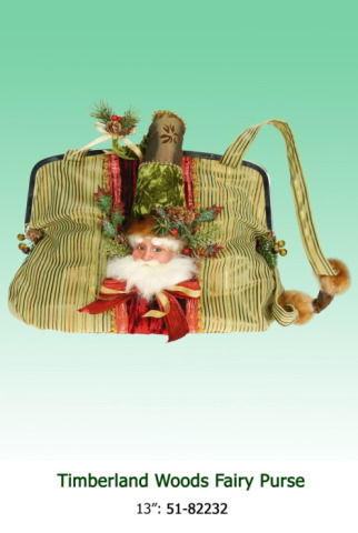 Classic Santa Purse