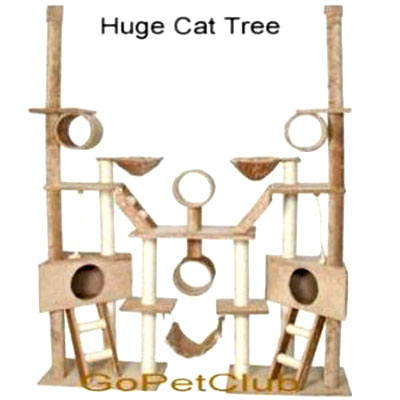 Huge Cat Tree: by GoPetClub