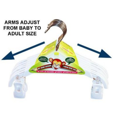 Child size Adjustable Eco Hanger: ©Hanger4Life