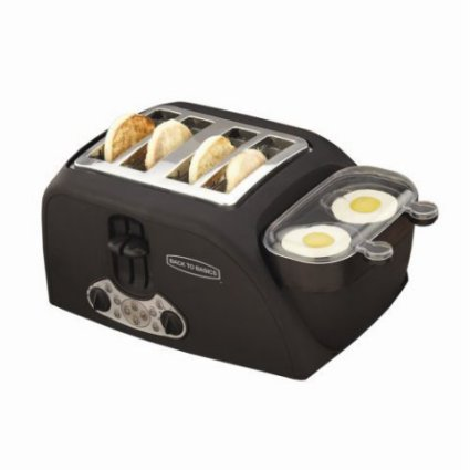 Back To Basics 4-Slot Toaster and Egg/Meat Cooker