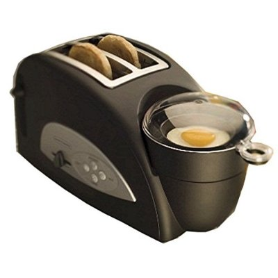 Back To Basics 2-Slot Toaster and Egg/Meat Cooker