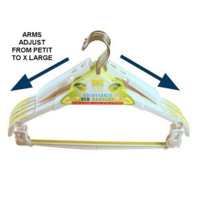 Hanger4Life Adjustable Eco Hanger, adult size: ©Hanger4Life
