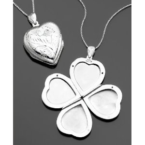 Lucky Heart Locket for Mom
