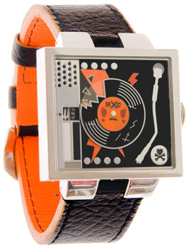 Tokidoki Retro Turntable Wristwatch recalls 80s glam
