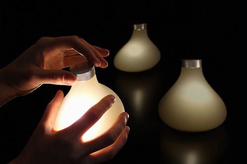 Share AWARE Light, Loove Broms & Karin Ehrnberger: ©Interactive Institute, photo by Loove Broms & Karin Ehrnberger