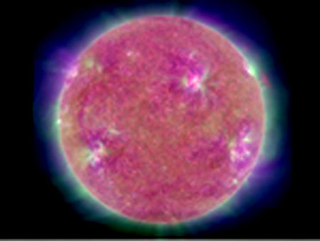 NASA&#039;s Solar Dynamics Observatory (SDO) image: Credit: NASA/GSFC/SDO/AIA/LMSAL