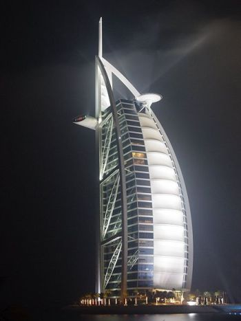 The Burj al-Arab (from WikiMedia)