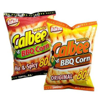 Calbee BBQ Corn Potato Chips
