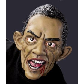 Barak Obama Zombie Mask
