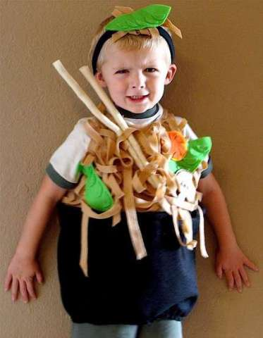 Japanese Noodles Halloween Costume