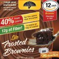 FiberGourmet Lite Frosted Brownies
