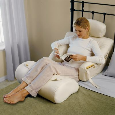 The Superior Comfort Bed Lounger not only offers solid, but softly  cushioned, flexible back support that conforms to your body's contours and  movements, ...