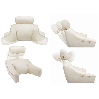 love to read or watch tv in bed then check out these back and knee pillows