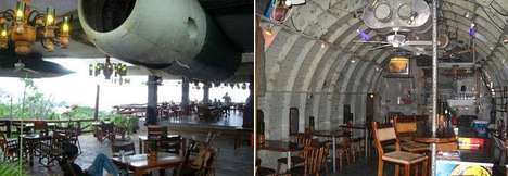 Converted Airplane Restaurants