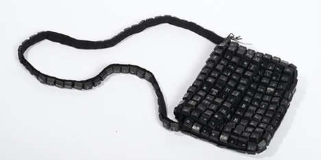 Recylced Keyboard Purse