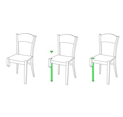 Chair Crutch: 5.5 Designers