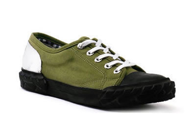 Ladies Green Bike Shoe