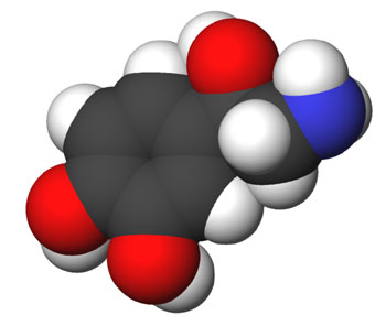 Norepinephrine: Image from Wikipedia