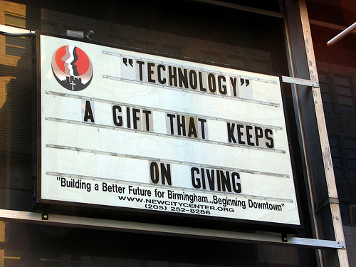 Technology: A Gift That Keeps On Giving: via BruceClay.com