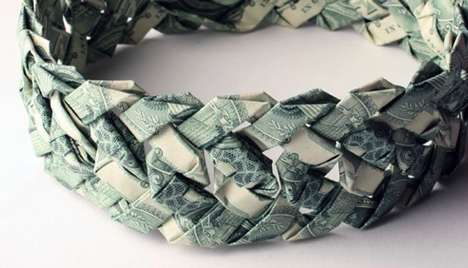 Jewelry Made from Money