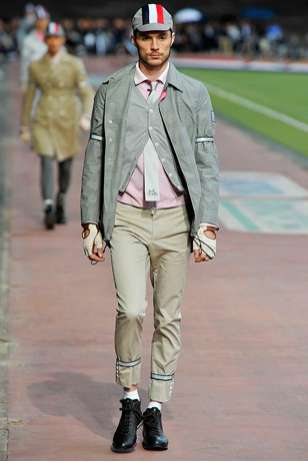 Men's Leggings in Thom Browne 2011 Spring Collection