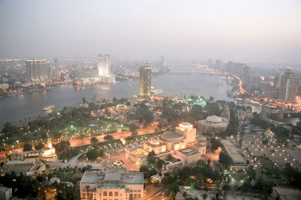 View From Egypt's Tower of Cairo