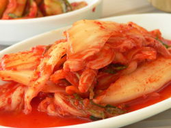 Kimchi, 'national dish' of Korea: image via Wikipedia