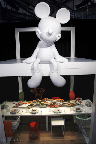 Walt Disney Signature & Cappellini Display at DIFFA 2010: ©Cappellini